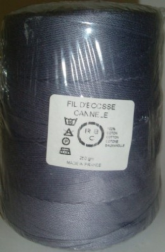 Yeoman Cannele Corded Mercerised Cotton 4ply Ardoise Y196.156